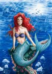 :ARIEL THE MERMAID: by Angelstorm-82