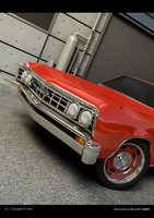 3D - CHEVELLE SS 67' by AlexandreGuilbeault