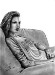Lady on a Sofa by AEvision