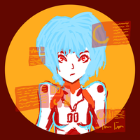 Rei Ayanami by HarajukuNoMatie