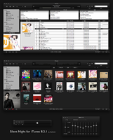 Silent Night for iTunes 8.2.1 by DaHLiA-7