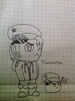 Hetalia Chibi Transnistria by F1st-of-R3volution