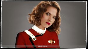 Hayley Atwell Star Trek by gazomg