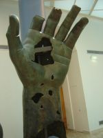 Apocalyptic Bronze Hand by Amor-Fati-Stock