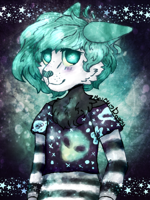 [C] Space Kid by Mairu-Doggy