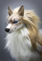 Nera Regular Saevus Wolf OOAK Posable Artdoll by CreatureGraphics