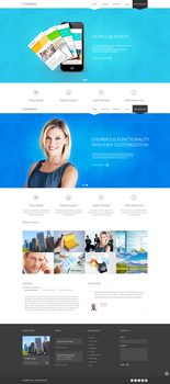 Crystalline a Ultimate Business WordPress Theme by the-webdesign