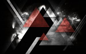 wallpaper 46 space triangle by zpecter
