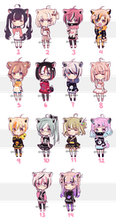 Set price cheap adopts | CLOSED by khatto-adopts