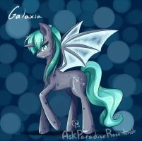Pony Commission: Galaxia by LucciolaCrown
