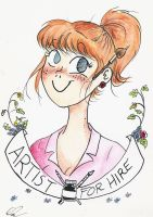 For Hire by bitter-knitter