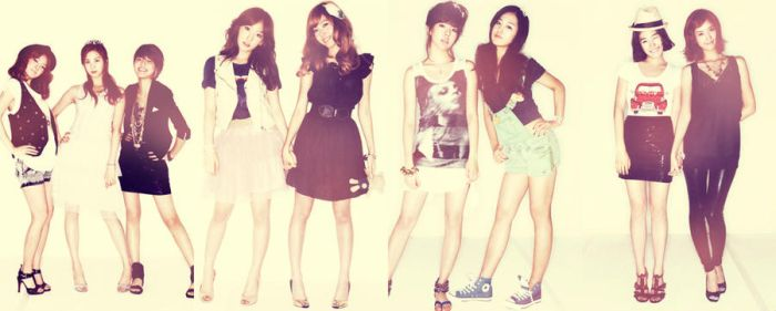 Girls' Generation by bevarde