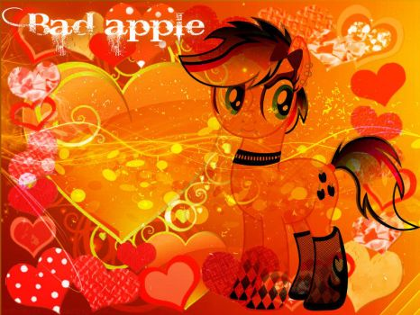 Bad Apple by Mobin-Da-Vinci