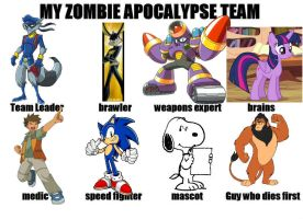 Zombie Apocalypse: The Freedom Fighters by lightyearpig