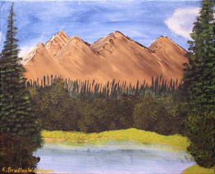 Mountain Lake by artisticimposter