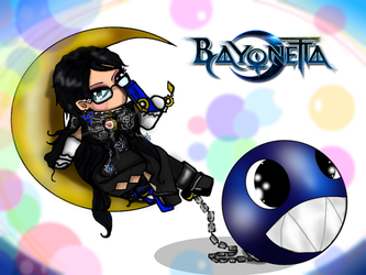 Bayonetta  Chain Chomp by FallenCryingDevil