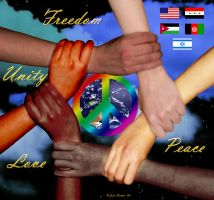 World Peace - Contest Entry by jodipheonix