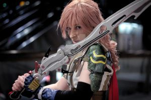 Lightning. It flashes bright, then... fades away.. by CiriCosplay