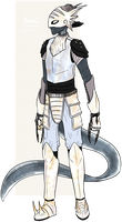 [Stream Adopt] Pearl the Sea Warrior (CLOSED) by ChesterPalm