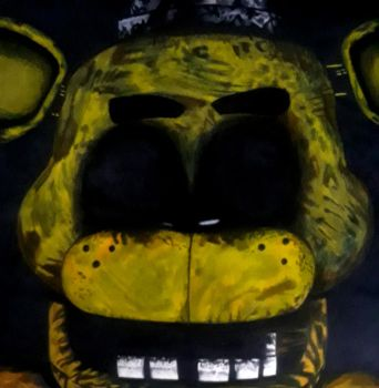 Golden Freddy by captaincrunch1950