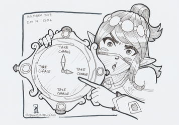 Time to take charge!, Ying, Paladins by stephenc94