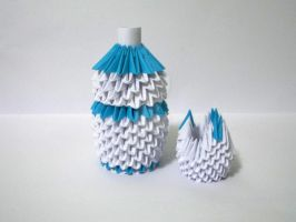 Water Jug and Glass by designermetin