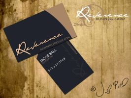 Reverence Business Card by jball430