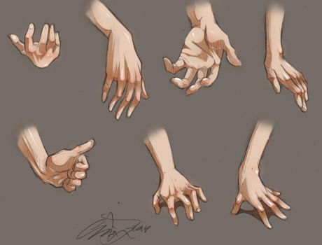 HAND poses by ImoonArt