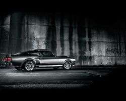 Ford Mustang GT 500 Eleanor by kamskow