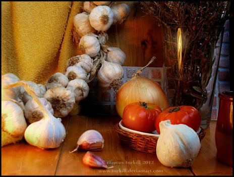 the string of garlic by turkill