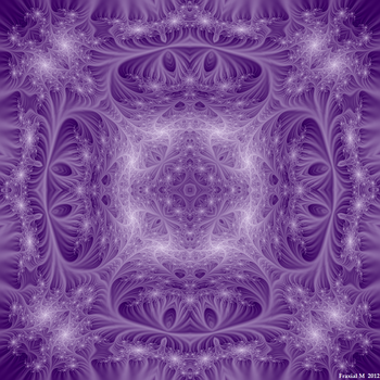 Purple Celestial Dome by fraxialmadness3