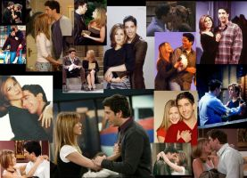 Ross and Rachel Collage by XxMariahXx