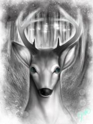 The stag by kitsunefire7