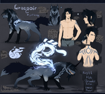 Graegoir ref sheet 2018 by MaraMastrullo