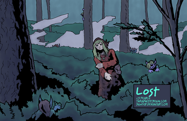 Lost (inktober, colored) by Sighter