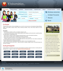 Universities.ro Website by octav-chelaru