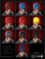 Animated Shape Helmet by 6and6