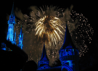 Castle Fireworks Show IMG 1074 by TheStockWarehouse