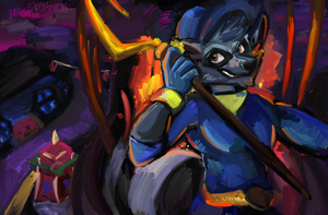 Sly Cooper by lightlabs