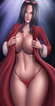 Nico Robin - Merry Christmas by Flowerxl