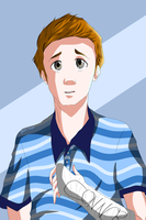 Dear Evan Hansen Fanart~ by Blue1nk