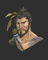 Hanzo by Ribbionss