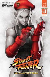 STREET FIGHTER UNLIMITED #3 CoverD Incentive by Kandoken