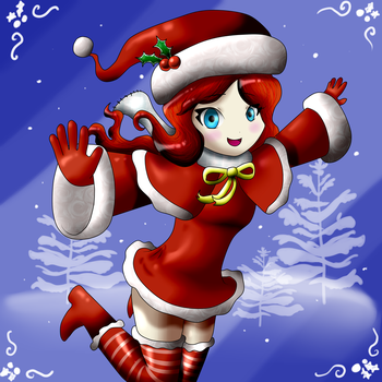 Christmas Spirit by DiamondDiancie10