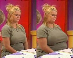 Before and After of Kerry Katona by gimpoid1