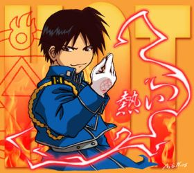 Roy Mustang by Aile-M