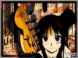Mio with Fender by elgrandeGreenthumb
