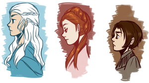 Game of Thrones by cookiekhaleesi