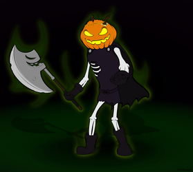 Behold Headless Horseman Jr. by JJJMadness