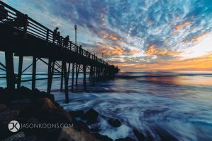 Pier Pleasure | Oceanside Pier by JasonKoons